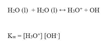 """Н.О (1) + H-О () — Н:0* + ОН Kw - [Нз0""""] [ОН ]"""