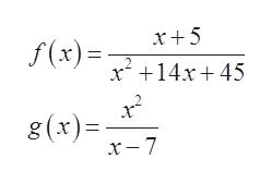 x5 f(x) x14x45