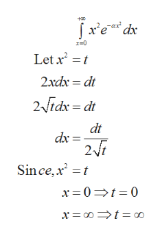 +0 x-0 Let x 2xdx dt 2idx = dt dt dx 2i Sin ce, x2 t