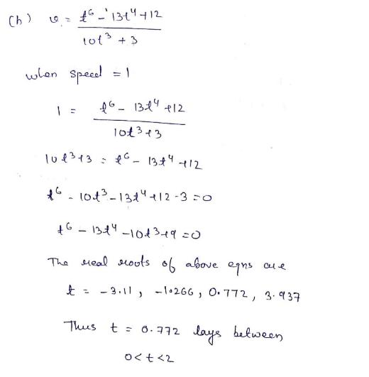 5.4 particle motion ap calculus problems