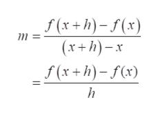 f(x+h)-f(x) (x+h)x f(x +h)-f(x) h