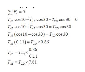ΣΕ-0 Тр сos 10-TAs соs 30-Tор сos 30 %30 Тдр сos 10-TAs соs 30 %3D Tcp сos 30 Тв (сos10 - cos 30)-Taр сos 30 Тa (0.11) - Т.р Х0.86 0.86 Тg 3 Тер Х- 0.11 ТАв 3D Тер х 7.81