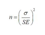 2 n = SE