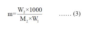 Wx 1000 m M,xW (3)