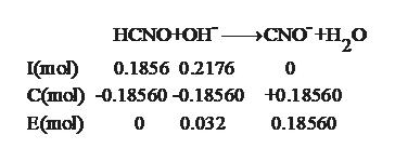 >CNO HH20 HCNOЮH - Imol) Cmo .18560-0.18560 t0.185660 0.1856 0.2176 Е(mо) 0 0.032 0.18560