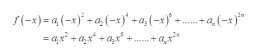 f(-x)=a(-x)a (-x)+a (-x)+ 6 22 + q (-x) - ax + аx* + ад+.