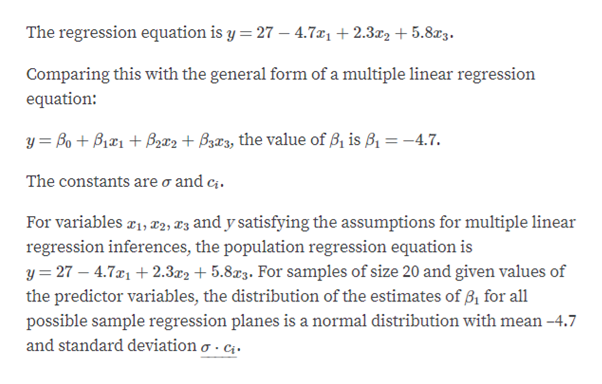 Answered: For variables x1, x2, x3, and y… | bartleby