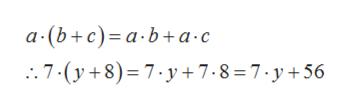 а-(b+с)-а-b+а-с 7-(y8) 7.y+7.8 7.y+56