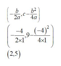 b2 b 2a 4a (-4) -4 ,9 2x1 4x1 (2,5)