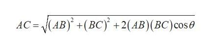 AC (AB)(BC +2(AB)(BC) cos