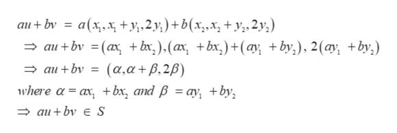 a(xxy2)+ b(x,.x, +y,2y,) - aι+bν - (α + bx ) (α + bx) +(ωγ +by ) 2 (α + bv) au+ bν ( α,α + β, 2β) where α- a, + bx, and βa) +bν, Φau + bν au+bν E S