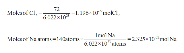 Chemistry homework question answer, step 1, image 1