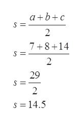a bc 2 7+8+14 2 29 2 s =14.5