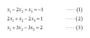 (1) -2x2+x1 (2) (3) 2x1 23 3x23x2