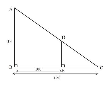 А D 33 В 100 Е 120