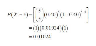 P(X-) (0.40) (1-0.40) (1)(0.01024)( =0.01024