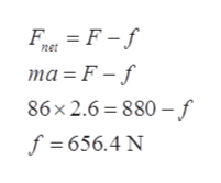 FaF-f net ma F-f 86x2.6 880-f f 656.4 N