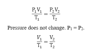 т, P2 Pressure does not change. P1 И V Т, Т.
