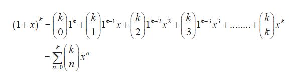 k k k (1x) 14 k-1 1-212 2 |k-3 3 + 0 1 3 k