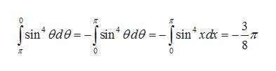 0 3 = --T [sin ede-[sin 0de = - [sin xck 8