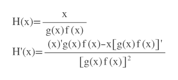 "X Н()- g(x)f (х) Н()- Х)8(х)f (х)-x[g(x)f(х)]"" [g(x)г(х)]?"