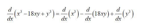 18xy+y))-(18)) (ec) d (18.xy) d d dx dx