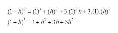 (1+h( ' +3.(1) h+3.(1).() (1h1h3h+3h2