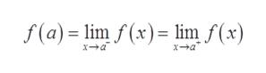 f(a) lim f(x) lim f(x) xa