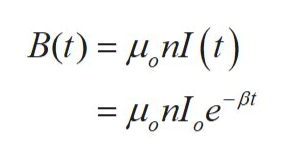 B(t) nl () = 4,nle -Bt