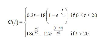 0.3t-181-e C() if0sts20 _(t-20) |1 8e60 - 12e 60 ift >20