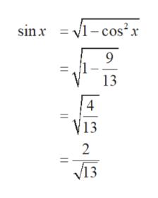 sin x =-cos2x 9 13 V13 2 Лз