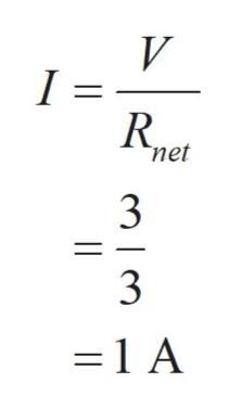 V I net 3 =1 A