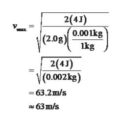 2(4J) '0.001kg (2.0g) lkg 2(4J) (0.002kg) 3 63.2ш/s 63 ш/s