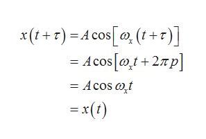 x(+r) Acos(t+r -Acos0+2p - Acos at = x(t)