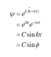 (-w) ela-r) = eeht -Csin kx Csin
