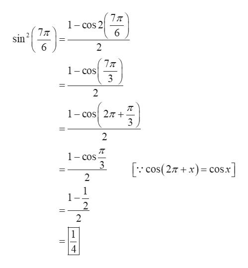 1 - cos 2 sin 6 2 1-cos 3 2 1 - cos 27T 3 2 п 1-cos 3 cos(27+xcos.x 2 1 2 2 1