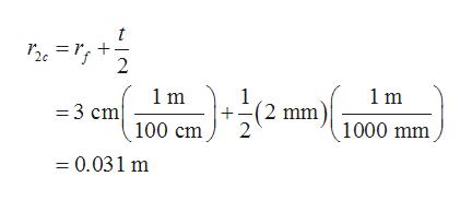 2 1 m 1 (2 mm) 1000 mm 1m =3 cm 100 cm = 0.031 m
