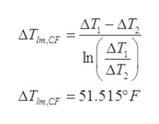 ΔΤ-ΔΤ Im CF ΔΤ In AT = 51.515°F Im,CF