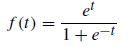 el f(1) = 1+e-t