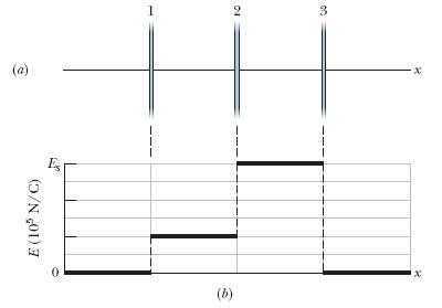 2 (a) (b) E(10 N/C)