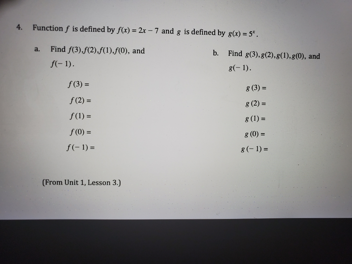 Answered: Function f is defined by f(x) = 2x - 7… | bartleby