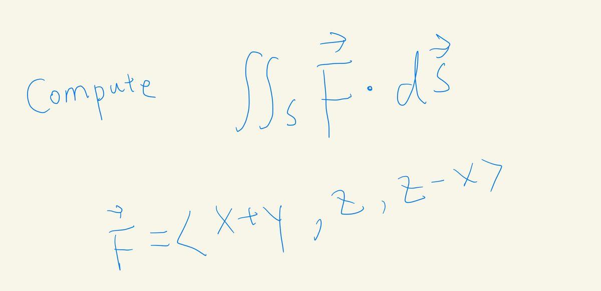 Compute s F=<X+y,Z,Z-メ>