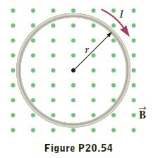 Figure P20.54