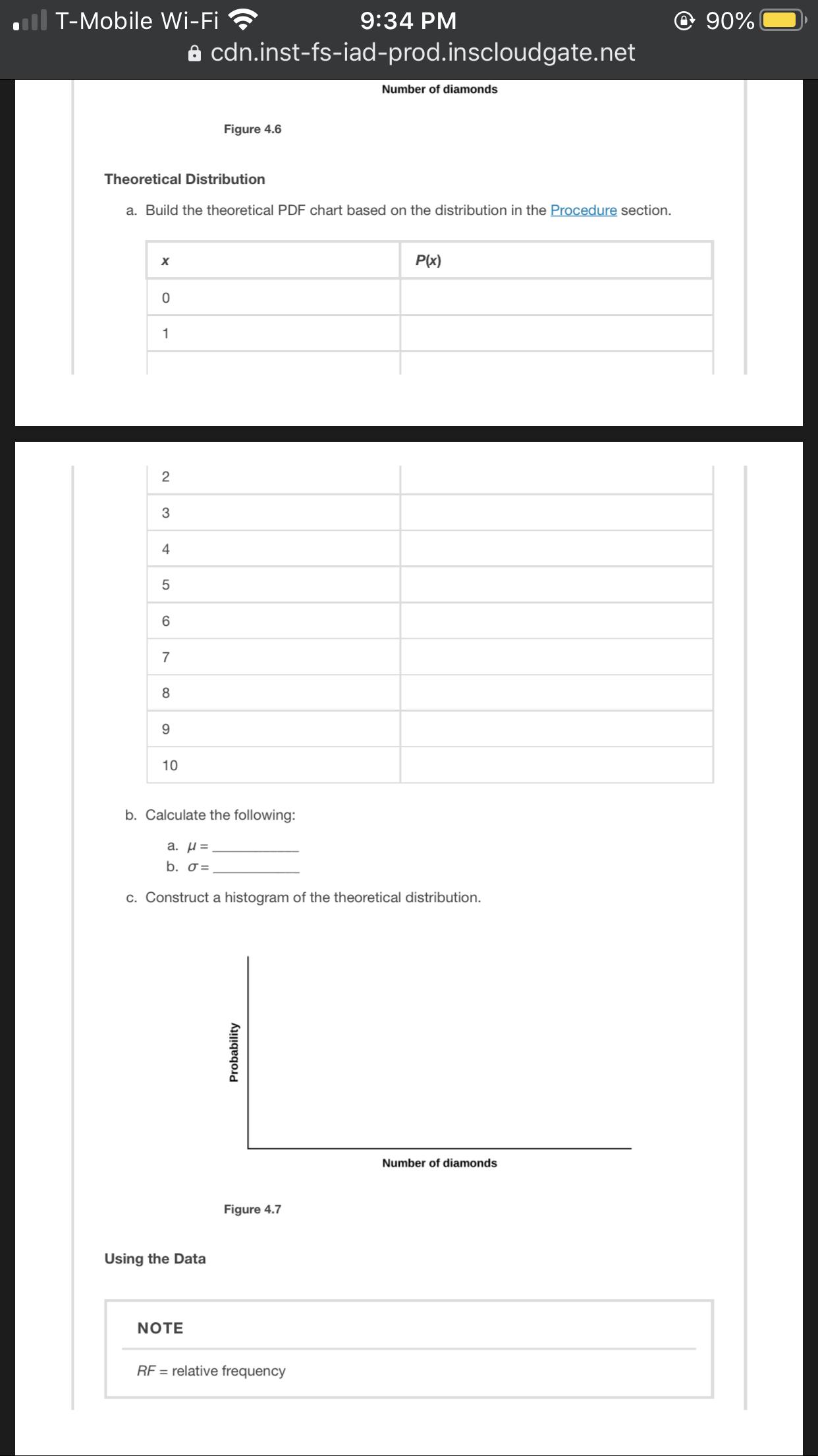 answered discrete distribution playing card…  bartleby