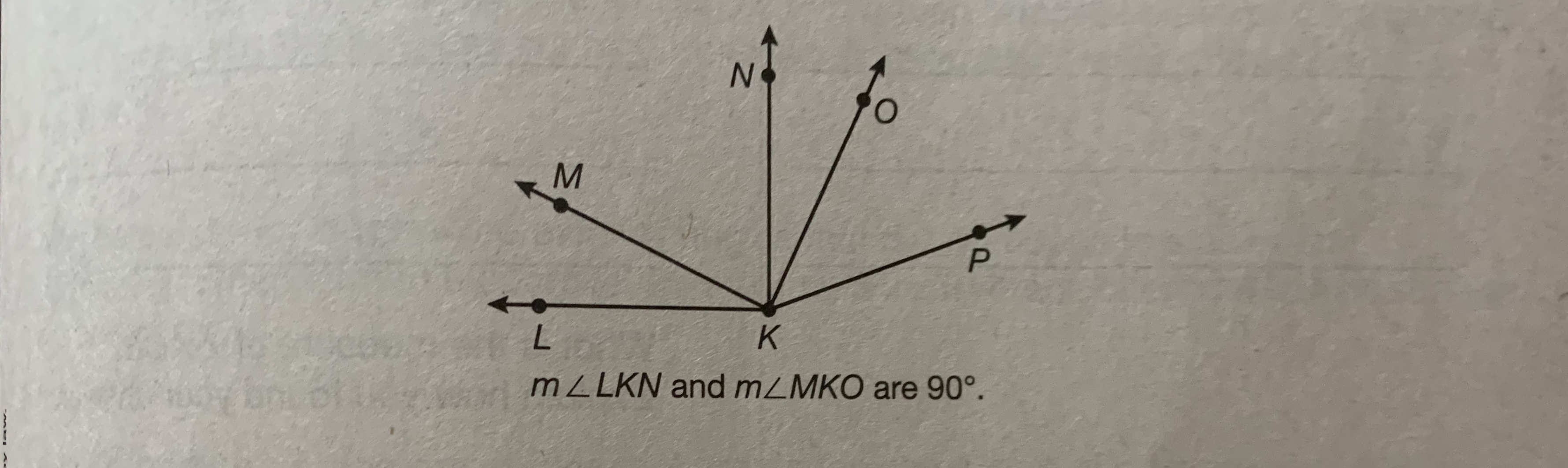 N. K MZLKN and mZMKO are 90°.