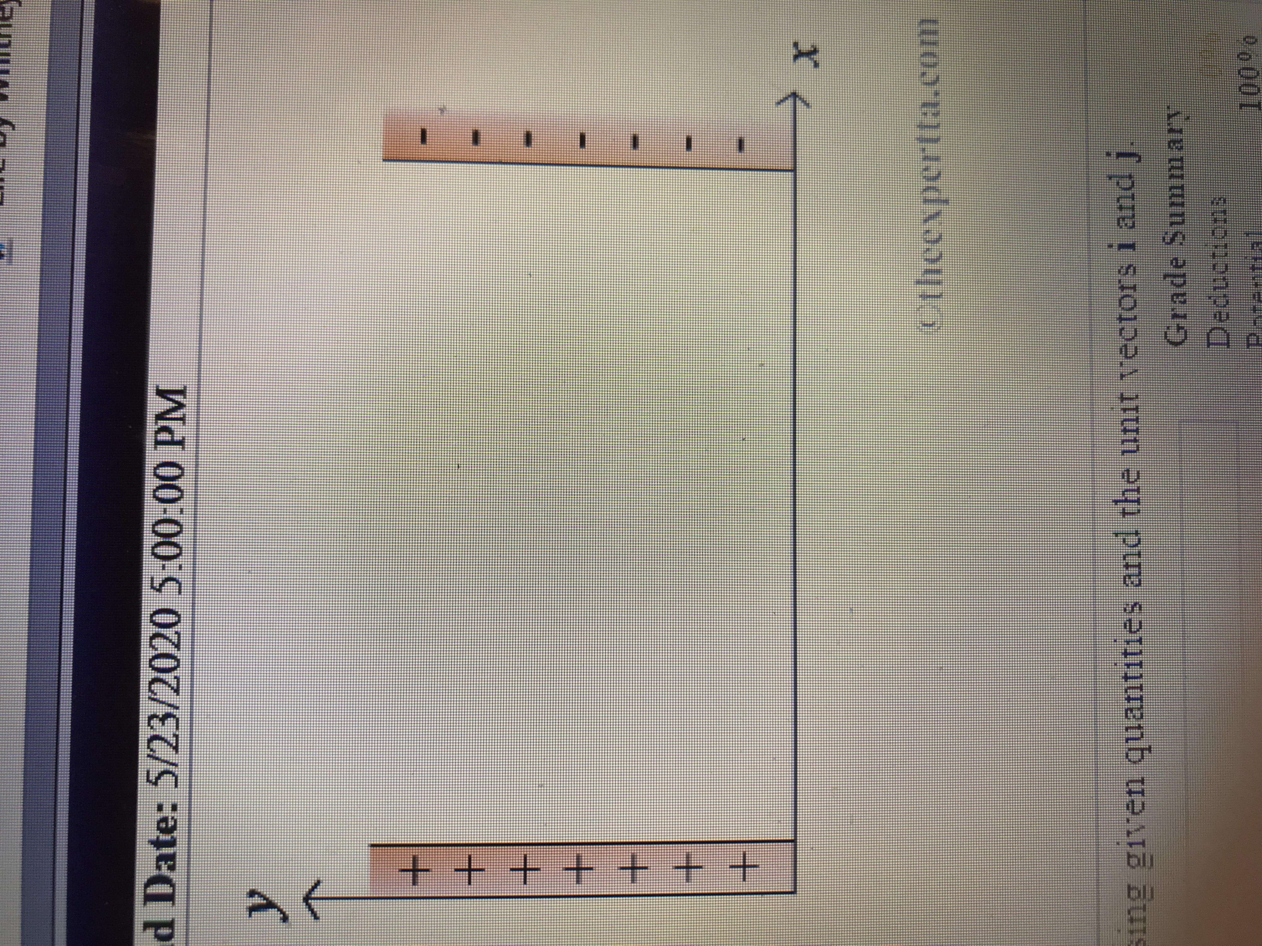 d Date: 5/23/2020 5:00:00 PM etheexpertta.com Sing given quantities and the unit ectors i andj. Grade Summary Deductions Parential 1000 0 +++++ + +
