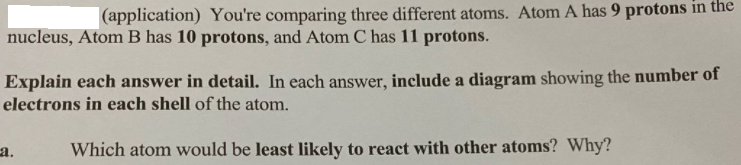 What has 11 protons