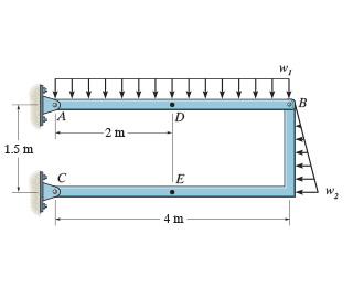 В |D -2 m 1.5 m E 4 m