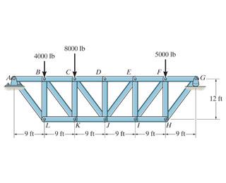 8000 lЬ кийР- 5000 lb 4000 IЬ В 12 ft К -9 ft 9 ft 9 ft- -9 ft- 9 ft- 6-