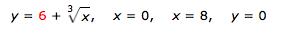 у 36+ \x, х %3D 0, у%3D 0 х3D 8,